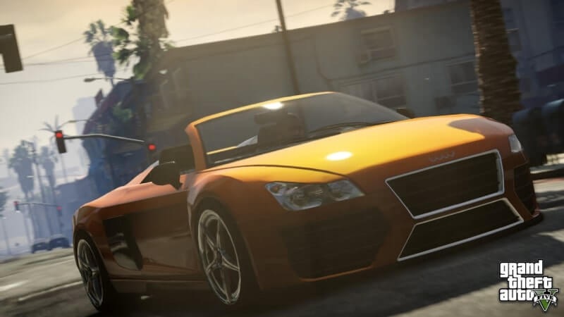 Grand Theft Auto V APK coche